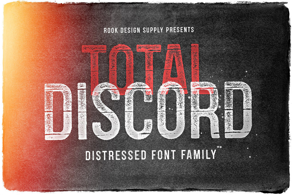 Total Discord Font Family - Available on Creative Market