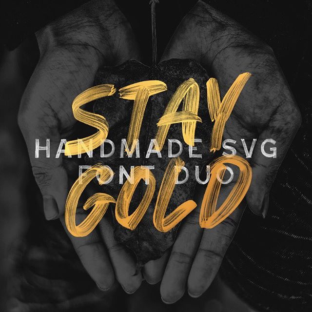 Just finished up this new SVG font pack. It's only $12 this week. Just sayin... #creativecloud #behance #creativemarket #typophile #artdirector #skateboarddesign #mtldesign #yvrdesign #cdndesigner #mtldesigner #glyphsapp #love #brushletter #paintlettering #paintletters