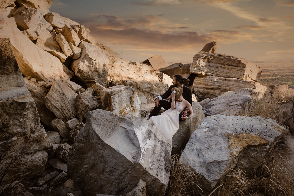 Erin + Matt - Table Rock, Boise