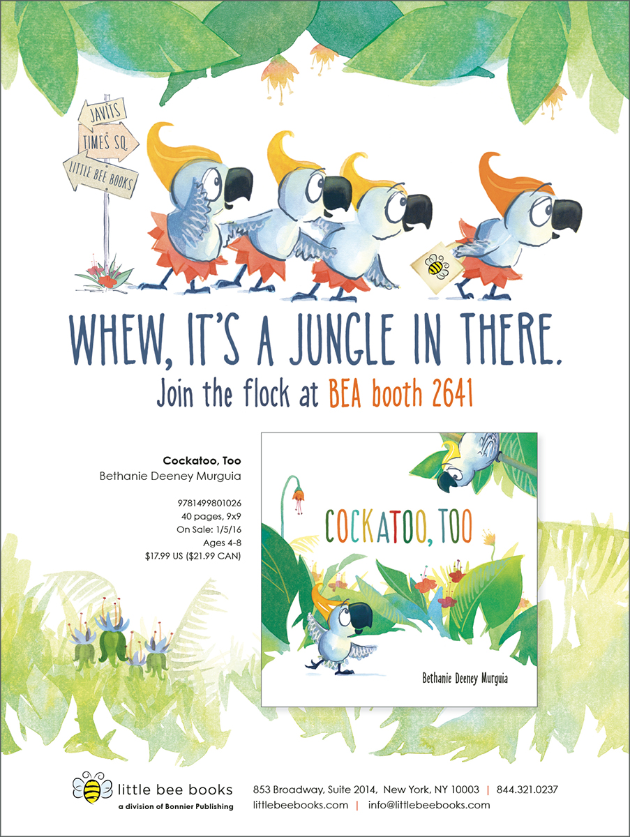 Publisher's Weekly! — Bethanie Murguia, Author and Illustrator of