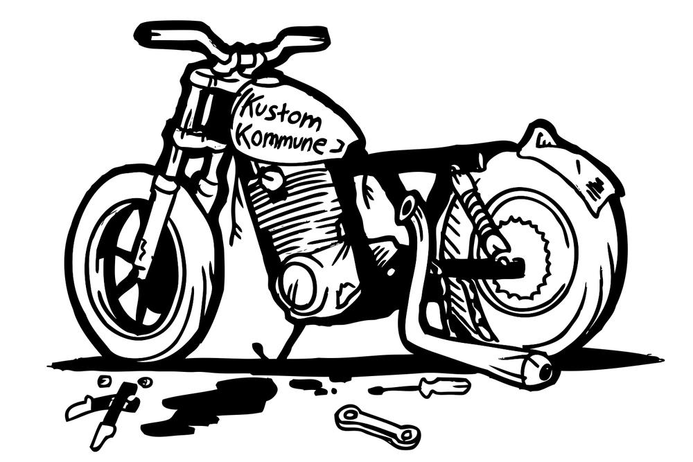 kustomkommune moto