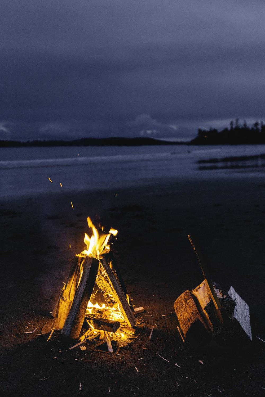 Tofino Campfire