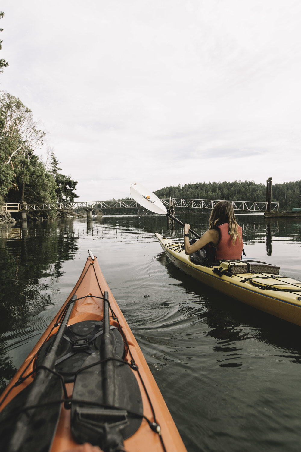 KAYAKING AT BEDWELL HARBOUR