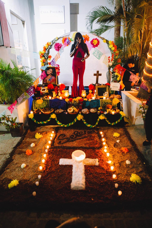 The Shrine of Selena - Dia De Muertos