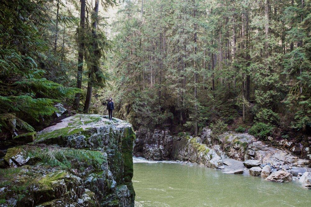 Capitano River + Cleveland Dam, Vancouver Springtime Hike