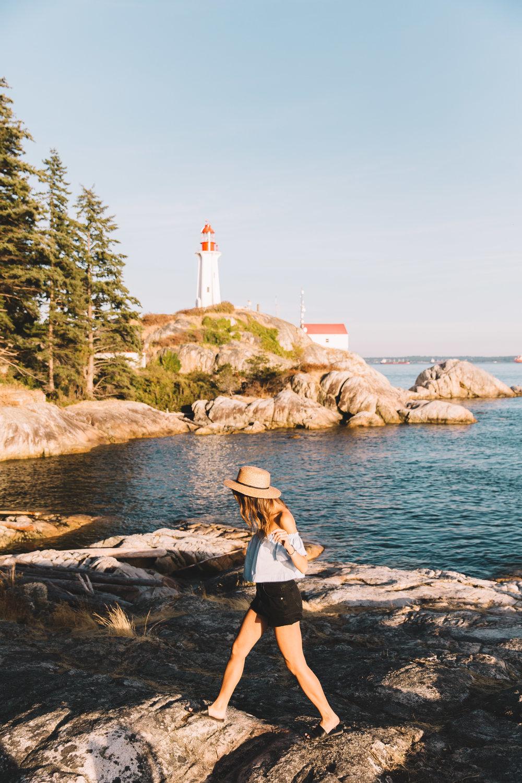 Lighthouse Park - Vancouver Hike, Springtime - VancityWild