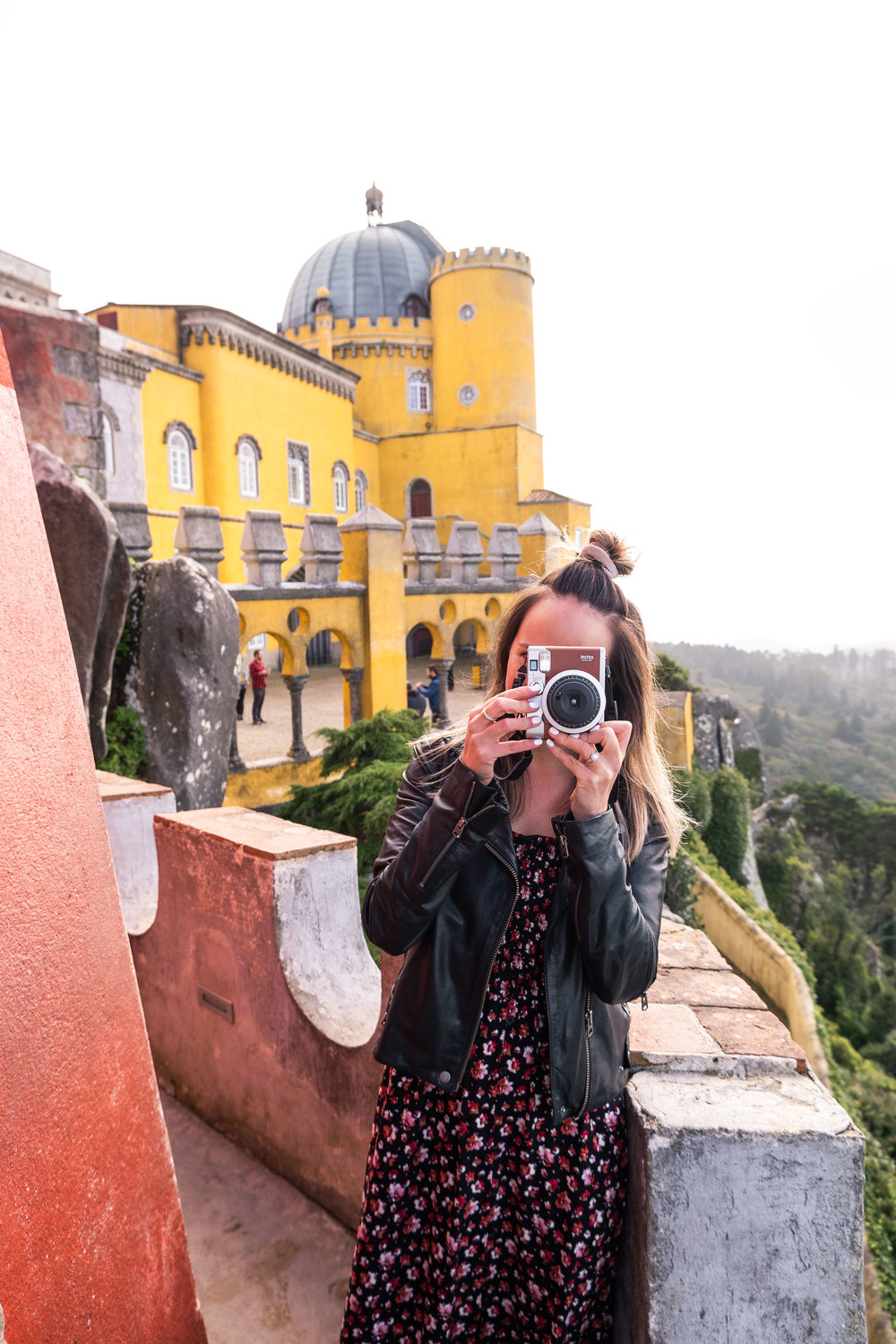 Capturing the beauty at Pena Palace, Sintra