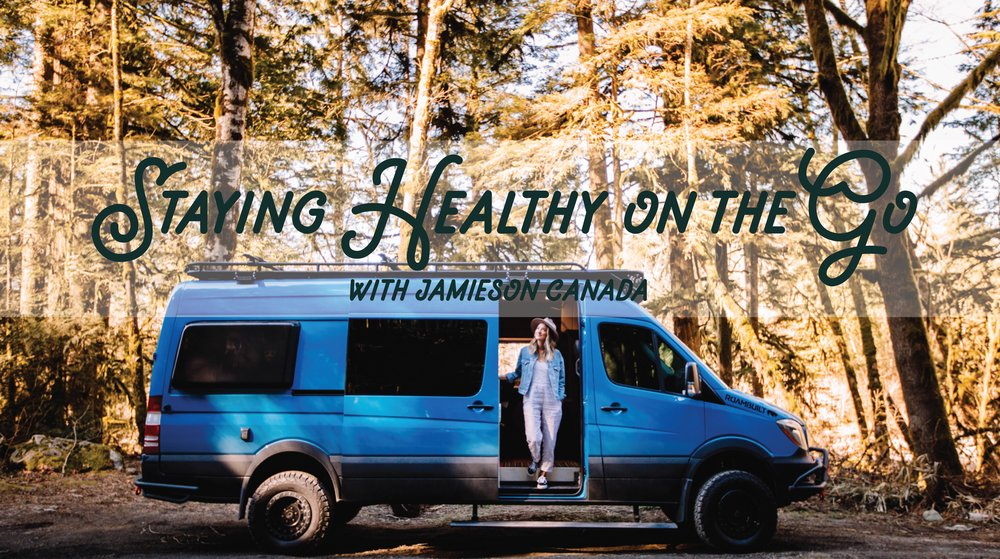 Staying Healthy on the Go with Jamieson Canada