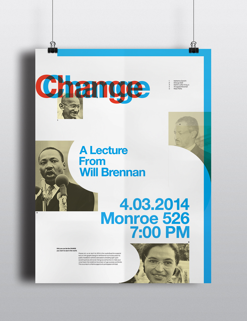 A Loyola Lecture Series — Change