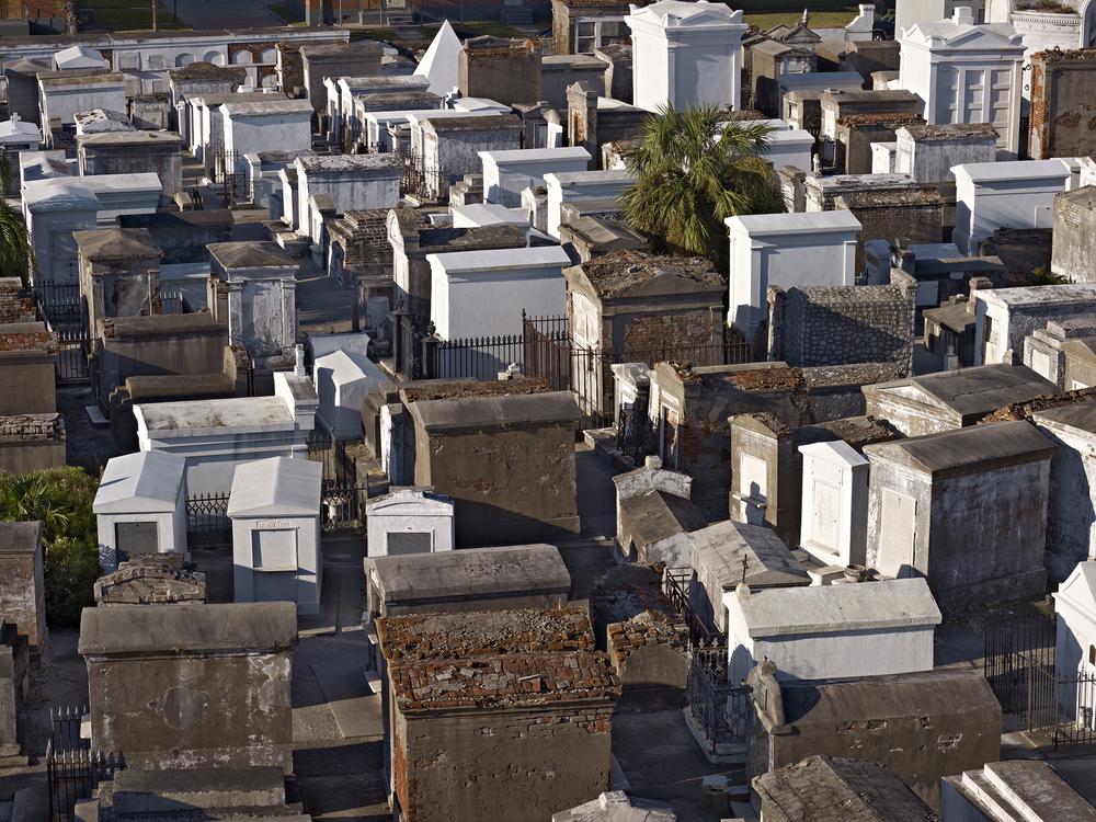 Saint Louis Cemetery No. 1,    Basin Street, New Orleans, 2012 © Richard Sexton