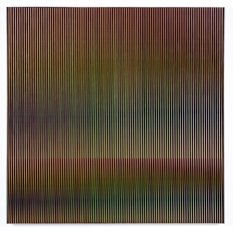 Carlos Cruz-Diez. Physichromie # 1194, 1982