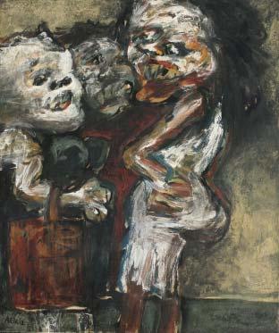 Antonia Eiriz. En la cola, 1963
