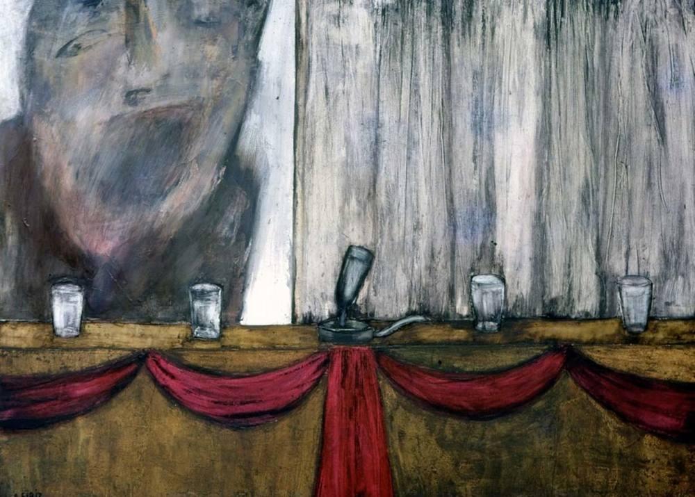 Antonia Eiriz. Vaso de agua, 1964