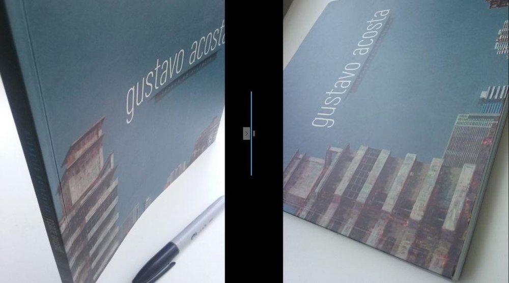 Catalogo con motivo de la exposición Gustavo Acosta. Espacio de silencio en Caixa Cultural, Rio de Janeiro, 2013. Curador: Rodolfo de Althayde.