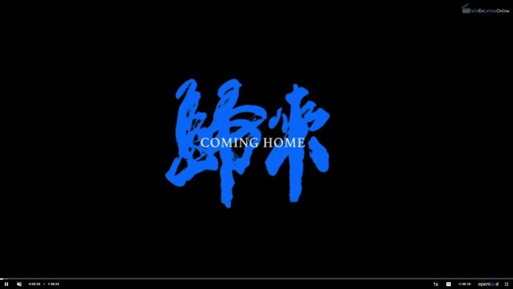 Coming Home   , 2014. Zhang Yimou