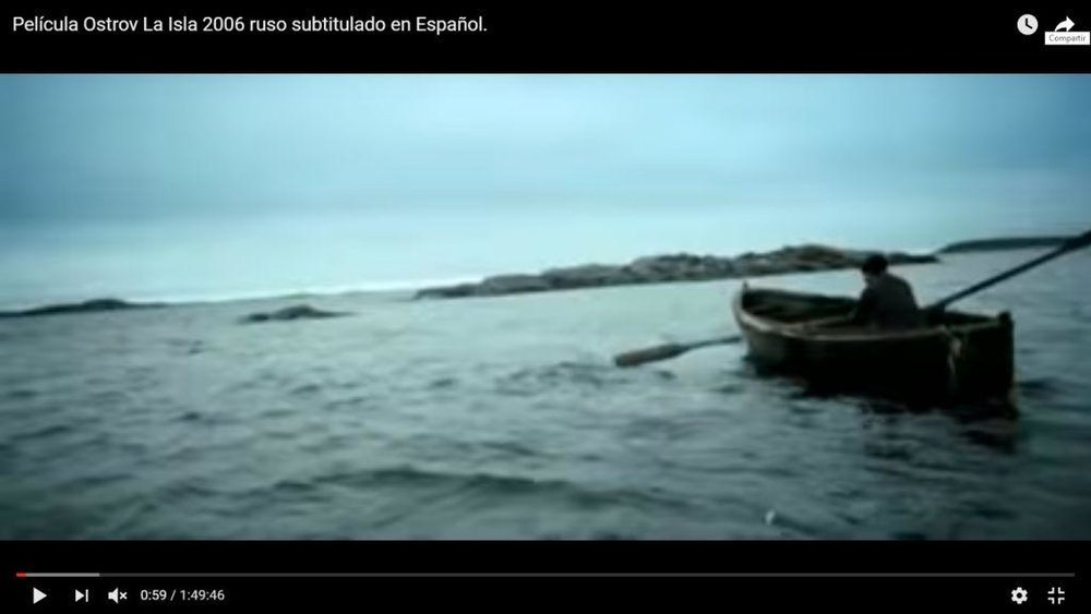 La isla   , 2006.Pavel Lungin
