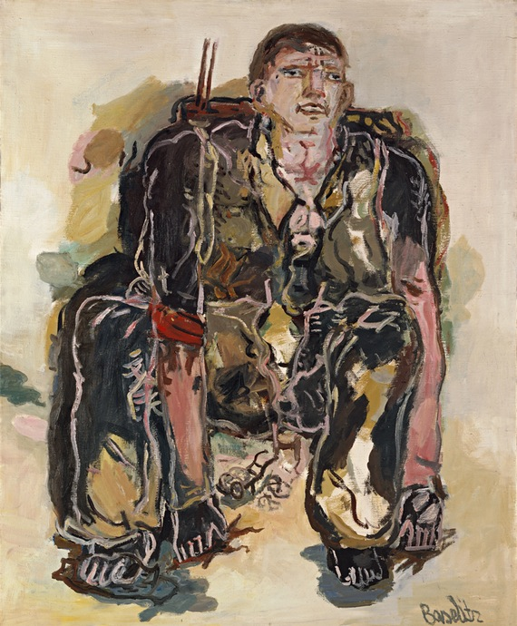 Georg Baselitz. The Modern Painter, 1965