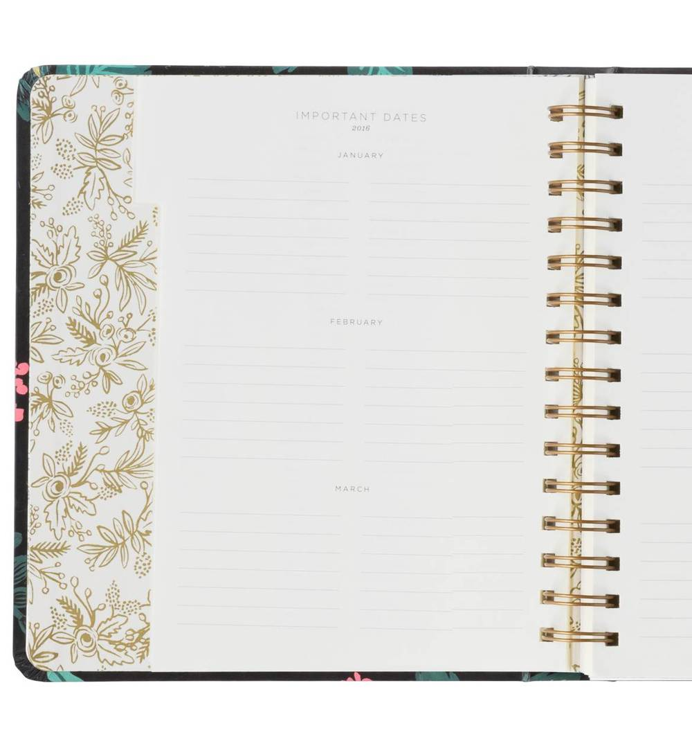 Rifle Paper Co. is one of the prettiest paper goods company. I absolutely love their products including their planner!