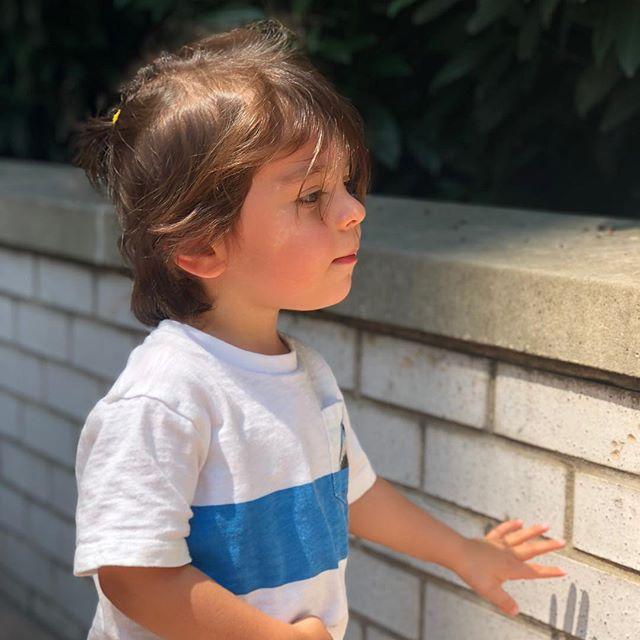 Boy wonder ❤️ #grayboy #sundayexploring #thisistwo #bugsrcoolmom #mylovebug