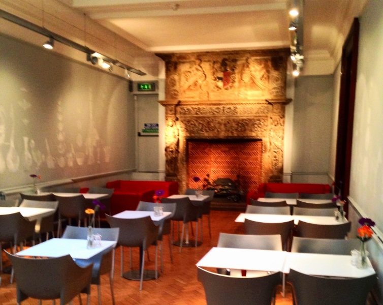 The Museum cafe has a wide selection of hot and cold drinks, as well as some food and cakes.