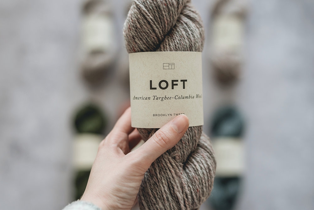 brooklyn tweed loft - postcard colour