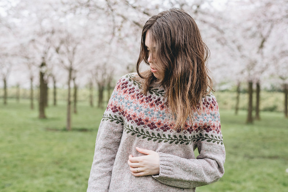 knitting birkin sweater brooklyn tweed loft