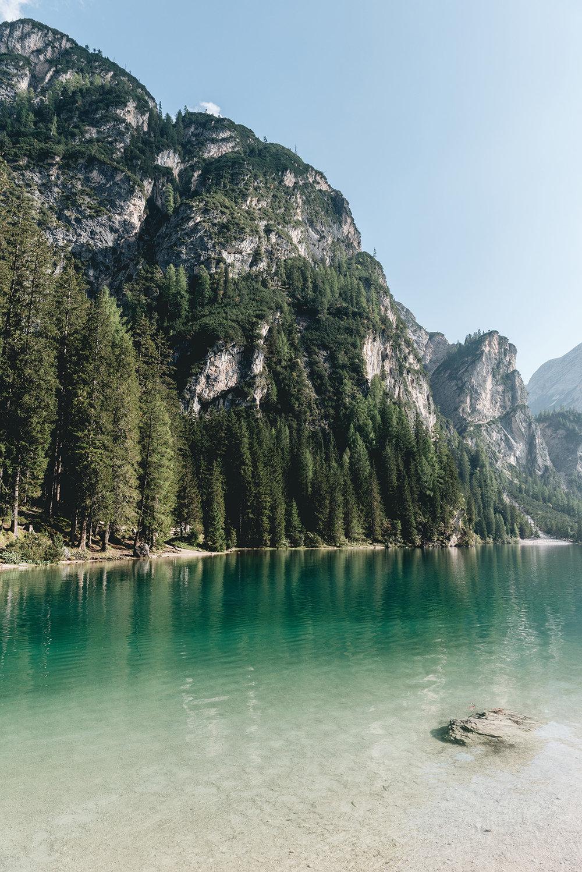 Dolomites Lago di Brais