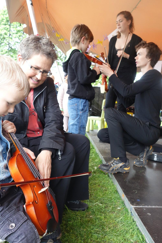 Foto: Kvartettserien. Fra fjorårets festival