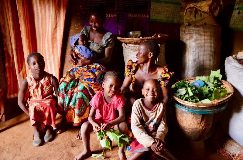 Mama Asha and her family