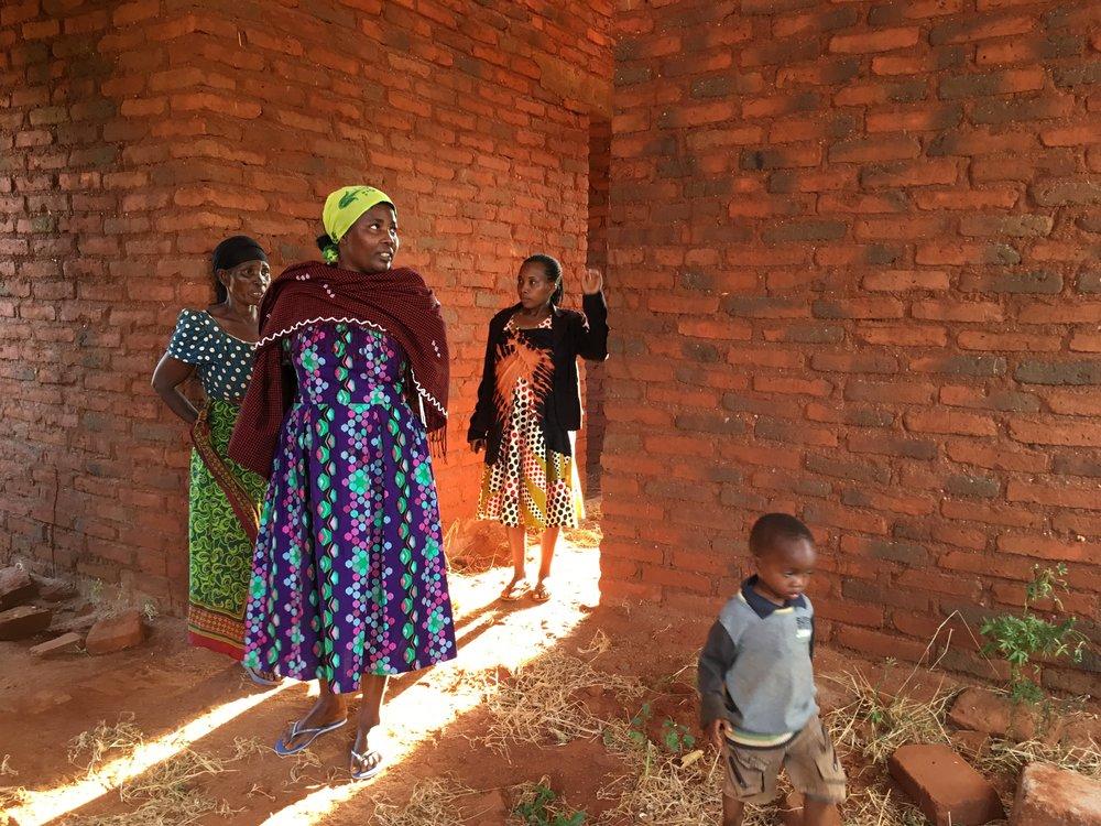 Mama Faith is building a house for her family