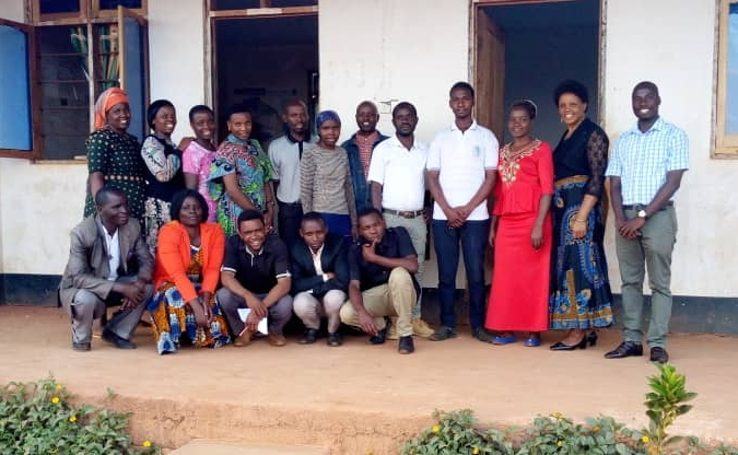 This is the whole team of dedicated QEA teachers, along with the school's management team.  Photo: Yohana Chuma