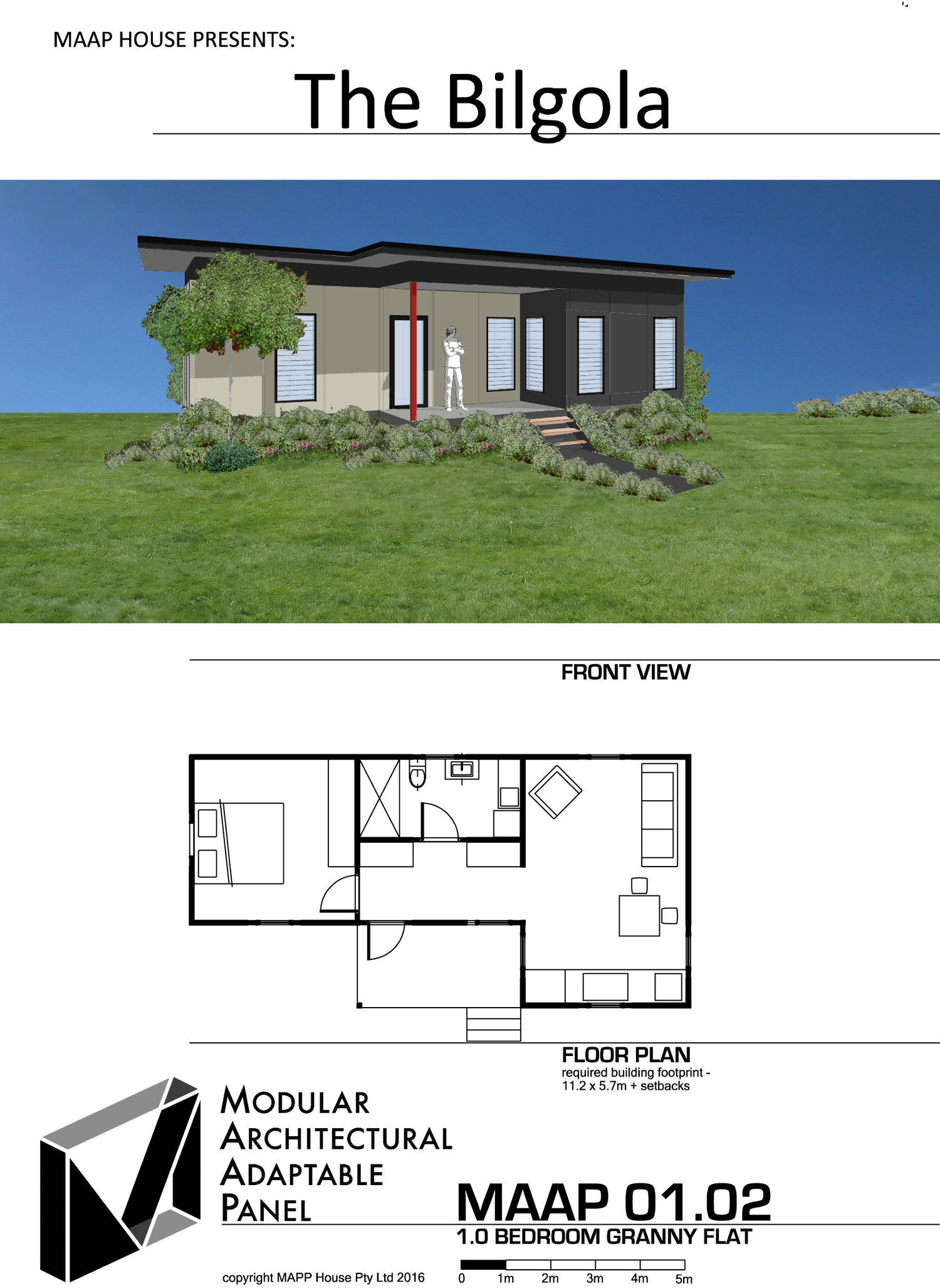 Granny Flat Designs Plans And Prices MAAP House - Granny flat 2 bedroom designs