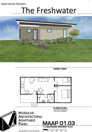Granny Flat Designs, Plans and Prices — MAAP House