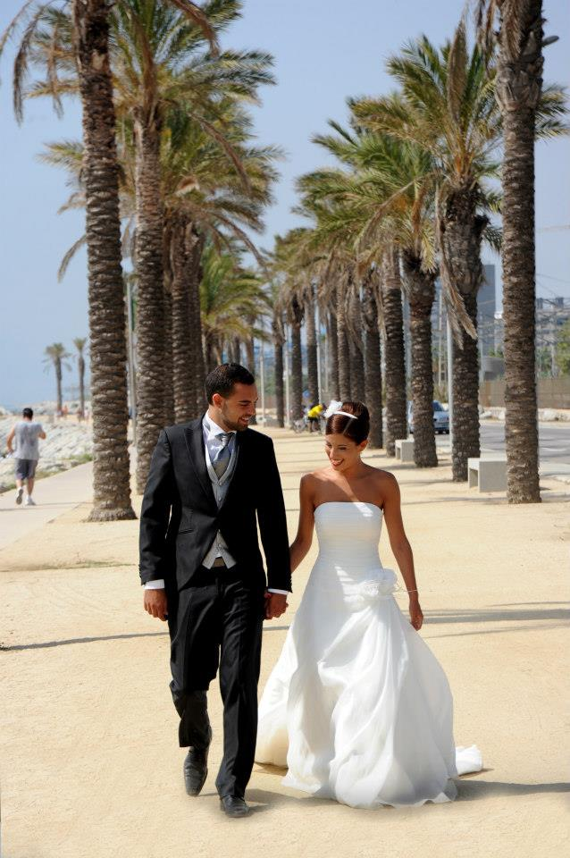 beautiful wedding barcelona