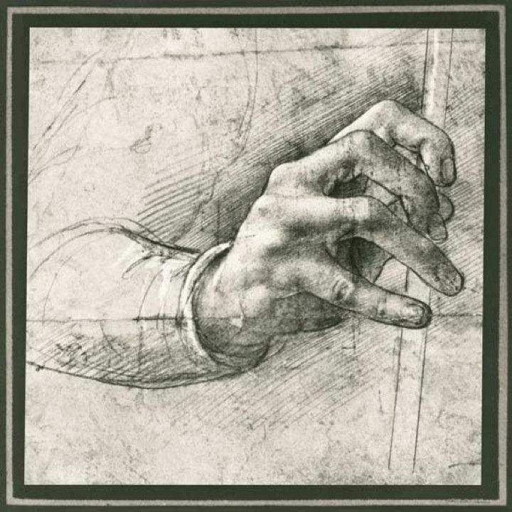 Hand Sketches from Leonardo Da Vinci