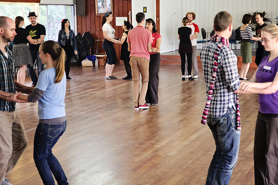 Lindy Hop swing classes in Brisbane