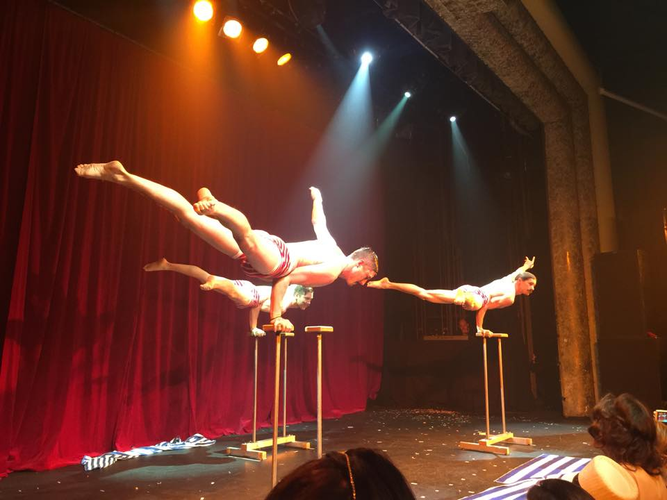 Acrobatica and their amazing skills