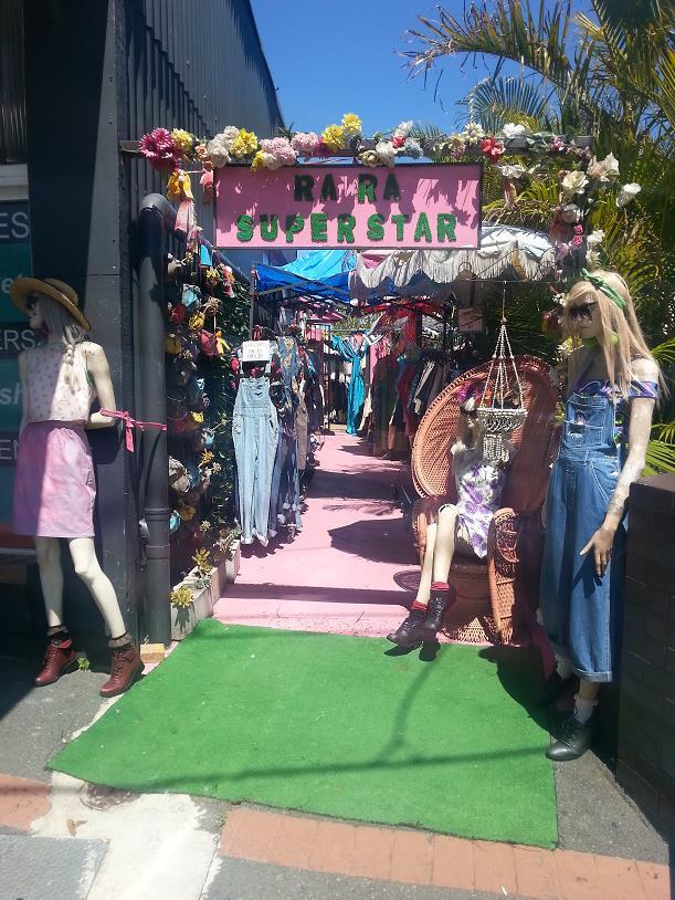 Vintage clothes shopping Brisbane