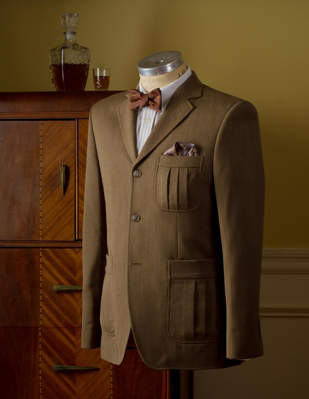 A lovely tailored jacket from Prohibition Clothing