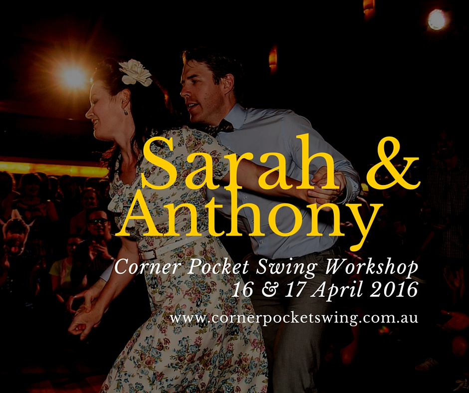 Sarah and Anthony Swing dance workshop teachers