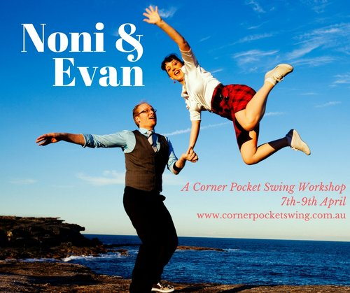 Noni Healy and Evan Hughes Workshop Lindy Hop Blues Brisbane