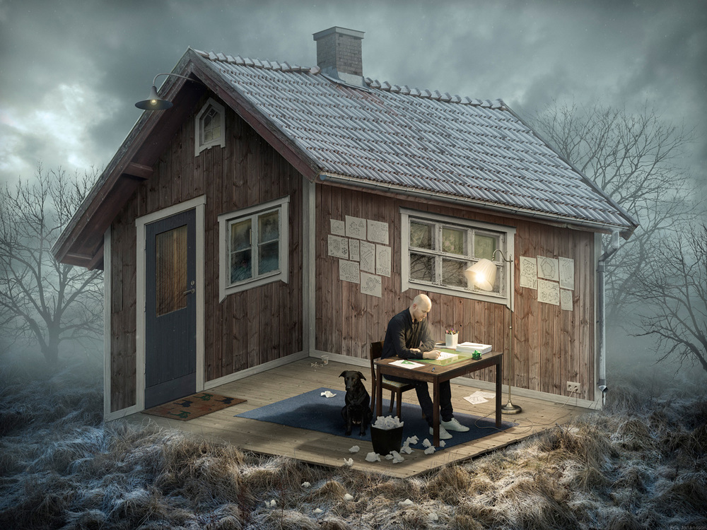 The Architect, 2015    180 x 135 cm Hahnemühle Photo Rag Baryta   Edition: 3 + 2AP