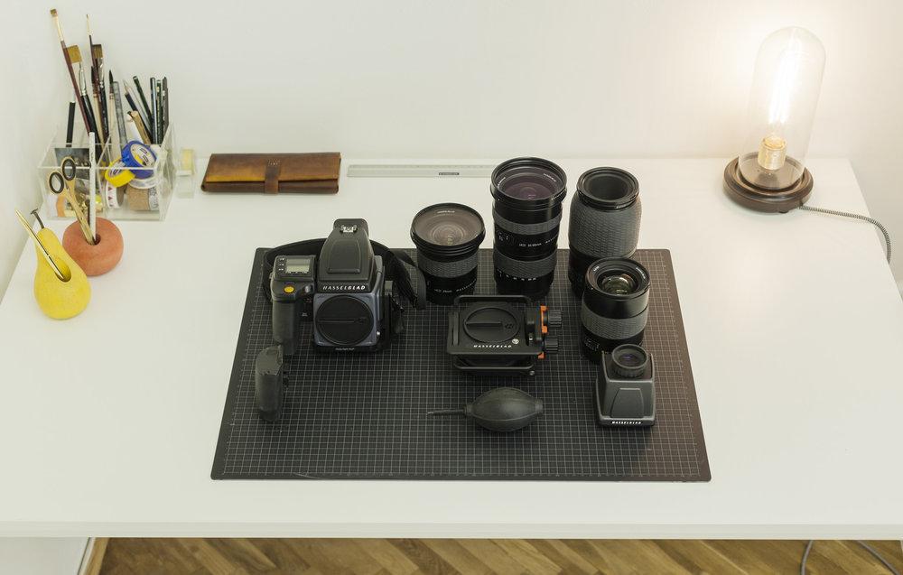 Camera gear of 2017