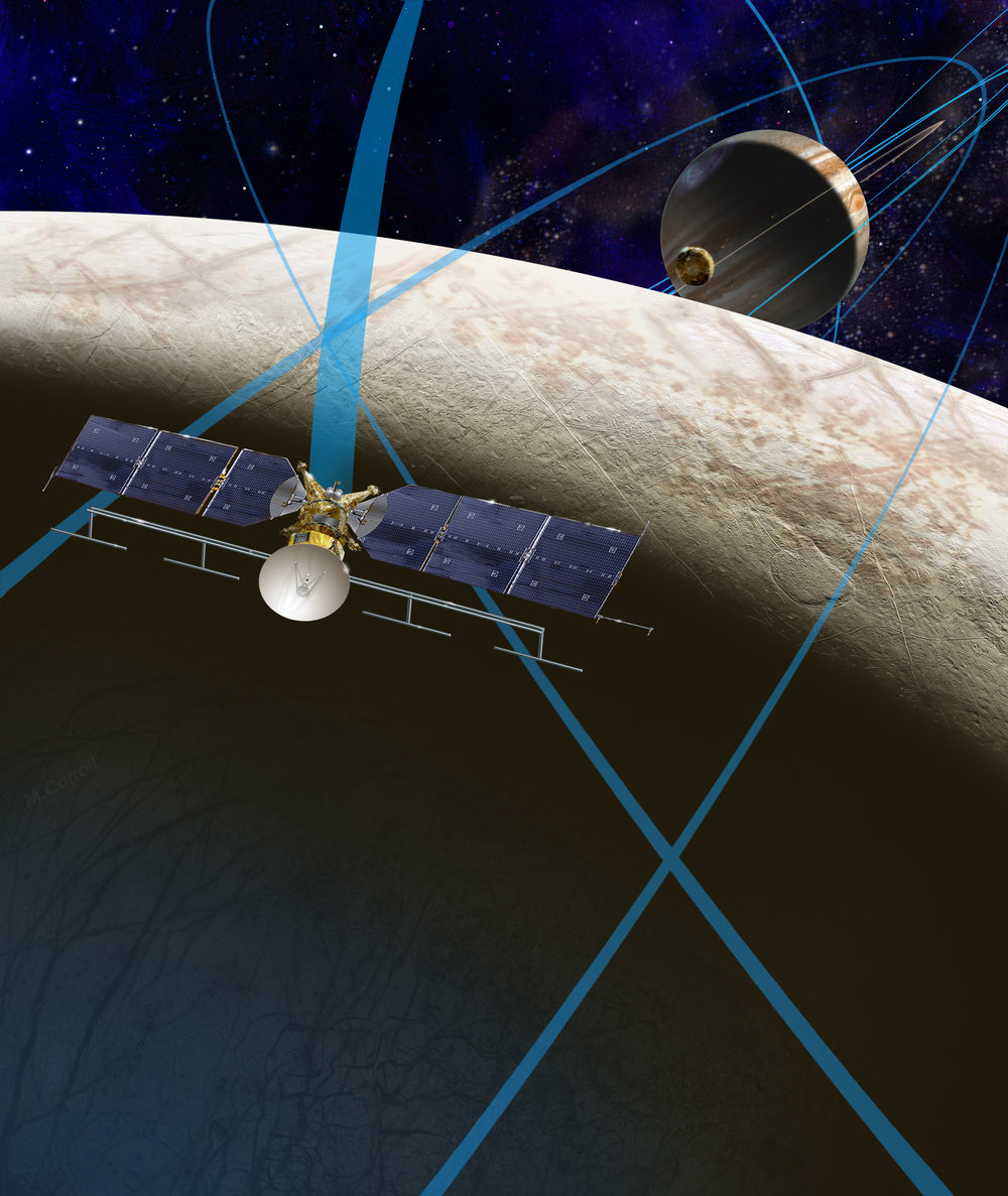 """Europa report: subsurface ocean is generating heat"""