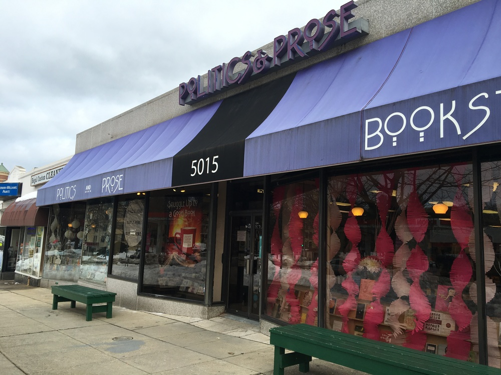 Politics and Prose Bookstore and Coffeehouse has been open in northwest Washington, DC, for over two decades. (Credit: Robin Dienel, American University)