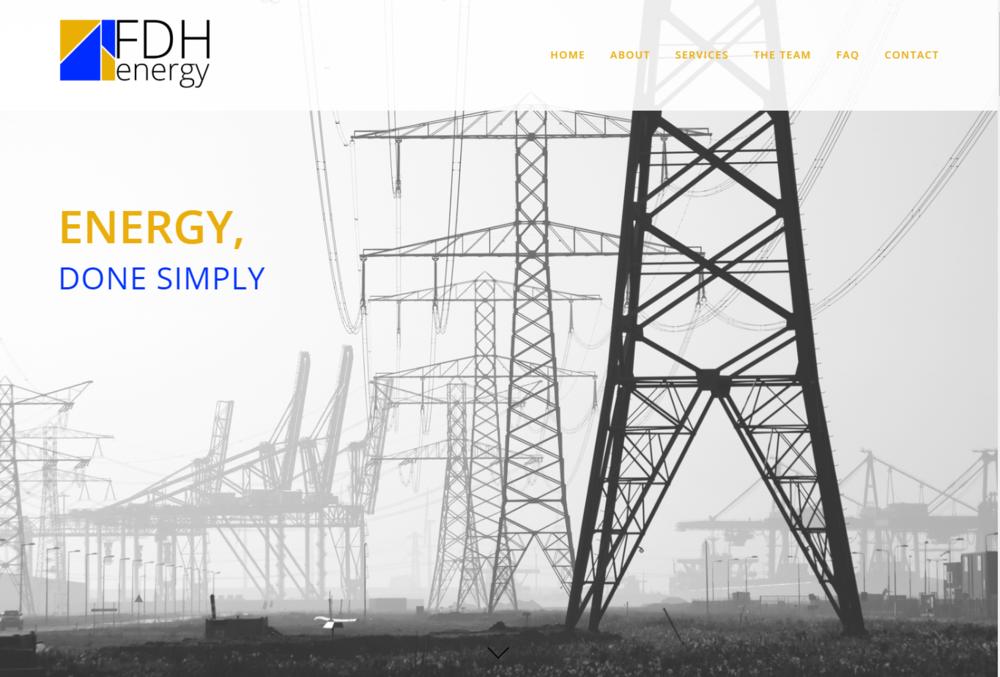 CONSULTANT - FDH ENERGY, INC.