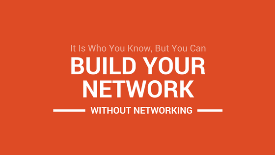 Build your writing network without networking.