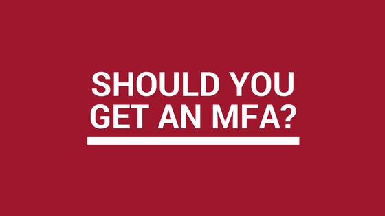 Should you get an MFA in creative writing?