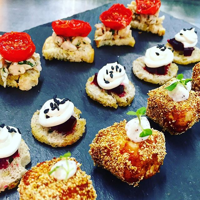 We are moving on from our residency at the Farm Shop and into private event catering! Contact us at thelittleyolk@gmail.com to cater your bespoke event #catering #event #thelittleyolk #food #foodporn #halloumi #canapes #weddings #instafood #small #mini #london #chef #kitchen #cheflife
