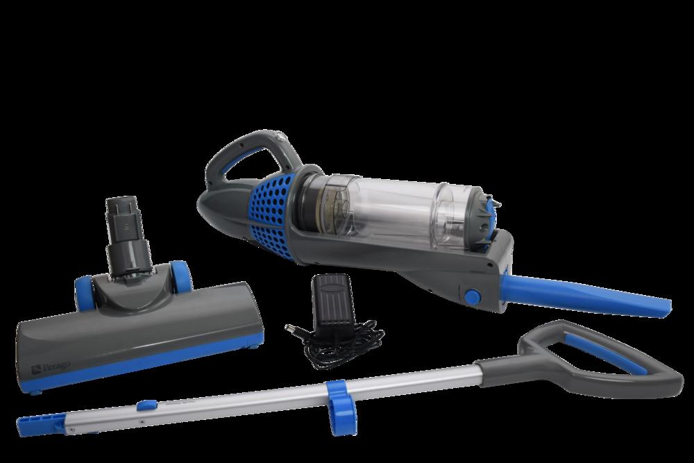 QUICKVac 2-N-1 Cordless Vacuum